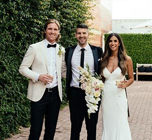 couple married at richmond by celebrant