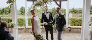 melbourne celebrant pronounces couple married