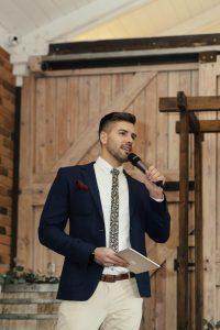 Wedding MC is a celebrant service