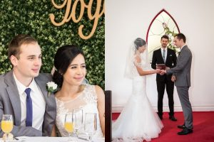 first easy wedding couple