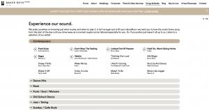 Baker boys band website